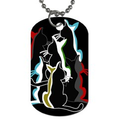 Street cats Dog Tag (One Side)
