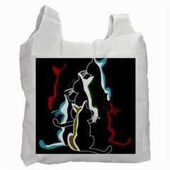 Street cats Recycle Bag (One Side)