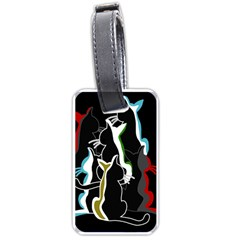 Street cats Luggage Tags (One Side)