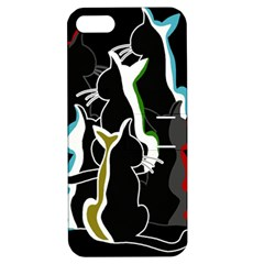 Street cats Apple iPhone 5 Hardshell Case with Stand