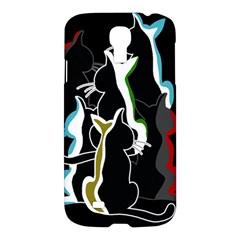 Street cats Samsung Galaxy S4 I9500/I9505 Hardshell Case