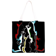 Street cats Grocery Light Tote Bag