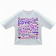 Love pattern Infant/Toddler T-Shirts