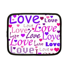Love pattern Netbook Case (Small)