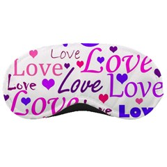 Love pattern Sleeping Masks