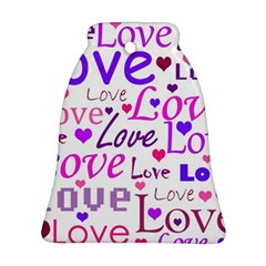 Love pattern Ornament (Bell)