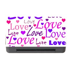 Love pattern Memory Card Reader with CF