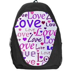 Love pattern Backpack Bag