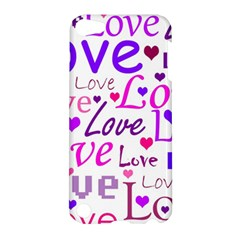Love pattern Apple iPod Touch 5 Hardshell Case