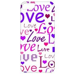 Love pattern Apple iPhone 5 Classic Hardshell Case
