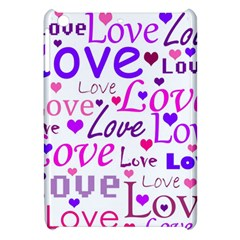 Love pattern Apple iPad Mini Hardshell Case