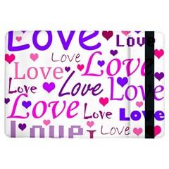 Love pattern iPad Air Flip