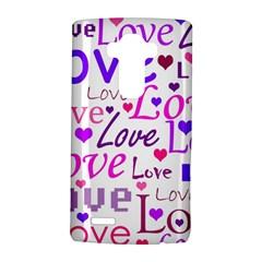 Love pattern LG G4 Hardshell Case