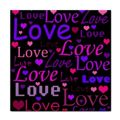Love pattern 2 Face Towel