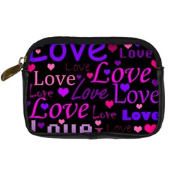 Love pattern 2 Digital Camera Cases