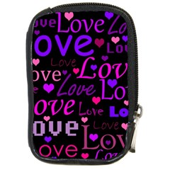 Love pattern 2 Compact Camera Cases