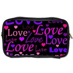 Love pattern 2 Toiletries Bags 2-Side