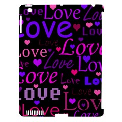 Love pattern 2 Apple iPad 3/4 Hardshell Case (Compatible with Smart Cover)