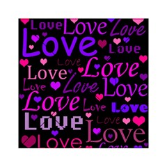 Love pattern 2 Acrylic Tangram Puzzle (6  x 6 )