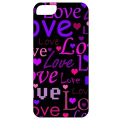 Love pattern 2 Apple iPhone 5 Classic Hardshell Case