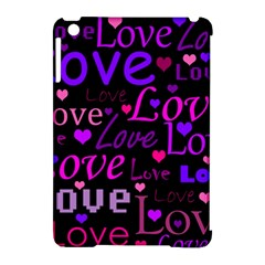 Love pattern 2 Apple iPad Mini Hardshell Case (Compatible with Smart Cover)