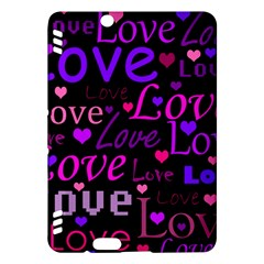 Love pattern 2 Kindle Fire HDX Hardshell Case