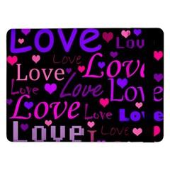 Love pattern 2 Samsung Galaxy Tab Pro 12.2  Flip Case