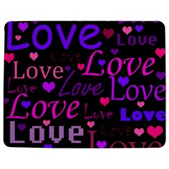 Love pattern 2 Jigsaw Puzzle Photo Stand (Rectangular)