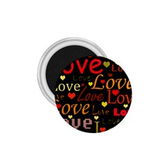 Love pattern 3 1.75  Magnets