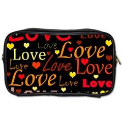 Love pattern 3 Toiletries Bags