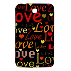 Love pattern 3 Samsung Galaxy Tab 3 (7 ) P3200 Hardshell Case