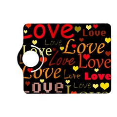 Love pattern 3 Kindle Fire HD (2013) Flip 360 Case