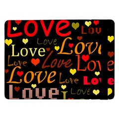 Love pattern 3 Samsung Galaxy Tab Pro 12.2  Flip Case