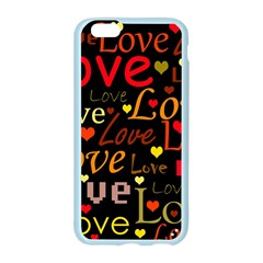 Love pattern 3 Apple Seamless iPhone 6/6S Case (Color)