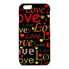 Love pattern 3 iPhone 6/6S TPU Case