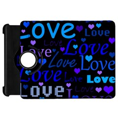 Blue love pattern Kindle Fire HD 7