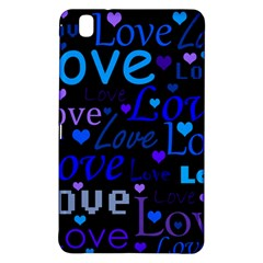 Blue love pattern Samsung Galaxy Tab Pro 8.4 Hardshell Case