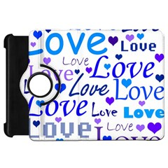 Blue and purple love pattern Kindle Fire HD 7
