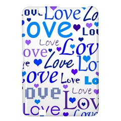 Blue and purple love pattern Kindle Fire HD 8.9