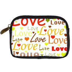 Valentine s day pattern Digital Camera Cases