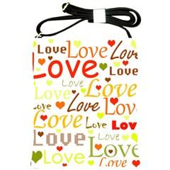 Valentine s day pattern Shoulder Sling Bags