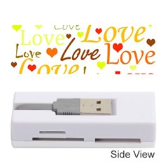 Valentine s day pattern Memory Card Reader (Stick)
