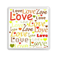 Valentine s day pattern Memory Card Reader (Square)