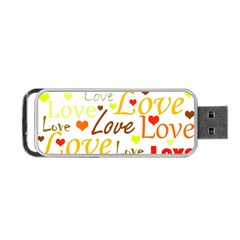 Valentine s day pattern Portable USB Flash (Two Sides)