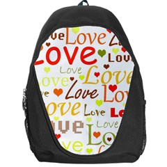 Valentine s day pattern Backpack Bag