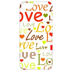 Valentine s day pattern Apple iPhone 5 Classic Hardshell Case