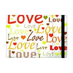 Valentine s day pattern Apple iPad Mini Flip Case