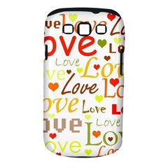 Valentine s day pattern Samsung Galaxy S III Classic Hardshell Case (PC+Silicone)