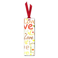 Valentine s day pattern Small Book Marks