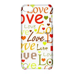 Valentine s day pattern Apple iPod Touch 5 Hardshell Case with Stand